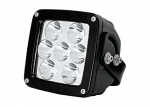 "LED WORK LIGHTS - MAGNUM SERIES (SQUARE). 4.6""L x 2.87""W x 5.8""D"