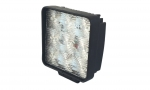 LED Work Light. 9-110VDC. 27W. 9 LED chips. 4.62˝L x 4.62˝W x 1.82˝D