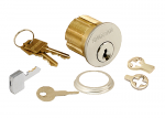 CAPTIVE MORTISE CYLINDER, 1-1/8""